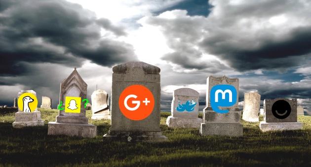 cementerio de redes sociales